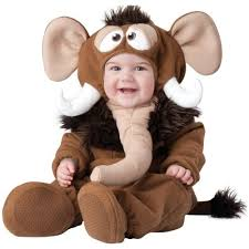 Elephant Halloween Costume Baby Wooly Mammoth Costume Baby Elephant Halloween Fancy Dress Ebay