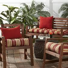 Waterproof Outdoor Chair Cushions Amazon Com Greendale Home Fashions 20 Inch Outdoor Chair Cushion