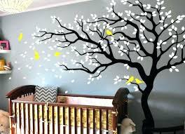 stickers muraux chambre bébé stickers pour chambre fille sticker mural arbre chambre bebe b id es