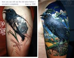 raven tattoo images u0026 designs