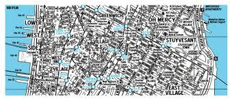 Map Of Midtown Manhattan Bob Dylan U0027manhattan U0027 Map