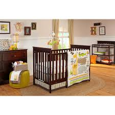 Baby Crib Sets Nojo Zoobilee 4 Piece Crib Set Crib Sets And Nursery