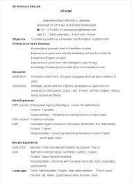 standard resume template standard resume sles micxikine me