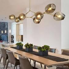 Cafe Pendant Lights Globe Glass Pendant L Branching Modern Chandelier Light