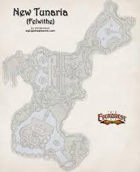 Eq2 Maps Eof 08 New Tunaria Felwithe Map Everquest 2