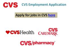 cvs employment application