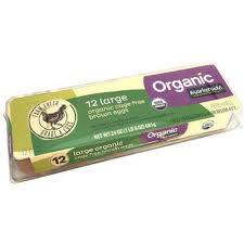 marketside organic large grade a brown eggs 12 ct walmart