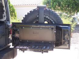 jeep jk tailgate panel u0026 fold down table azoffroading com