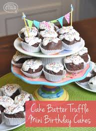 homemade cake batter truffles mini cakes club chica circle