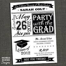 high school graduation party invitations high school or college graduation party by michelepurnerdesigns