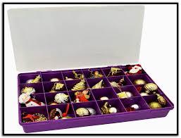 ornament storage box with 40 compartments home design