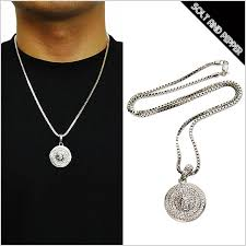 small ball pendant necklace images Solt and pepper rakuten global market for no brand micro small jpg