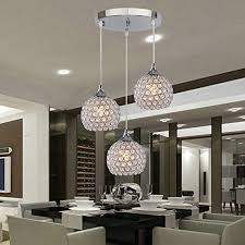 Flush Mounted Lighting Fixtures Dinggu 3 Lights Modern Pendant Light Fixture Flush