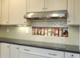backsplashes stick glass mosaic classic kitchen backsplash