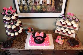 minnie mickey mouse birthday party decorations cake ears u0026 more