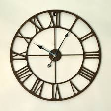 Iron Home Decor Compare Prices On Large Iron Wall Clock Online Shopping Buy Low