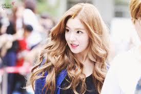 red velvet irene u0027s wavy hair kpop korean hair and style