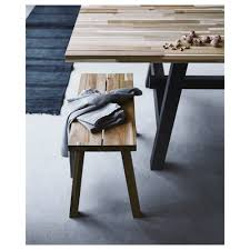 What Is Ikea Furniture Made Out Of Skogsta Bench Ikea