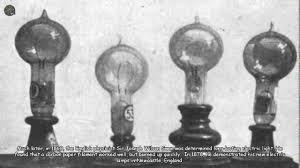 when was light bulb invented who invented the lightbulb first youtube