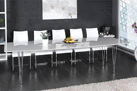 designer esstisch esstisch continental 270 cm hochglanz weiß riess ambiente de