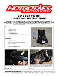 cbr1000rr undertail 2013 15 bodies racing