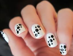 black and white nail art designs easy graphic black and white