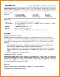 Systems Analyst Resume Example by 5 System Analyst Cv Reporter Resume