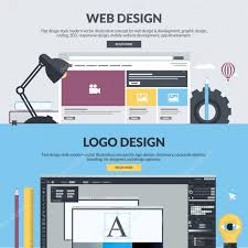 Homepage Design Concepts Web Design Stock Vectors Royalty Free Web Design Illustrations