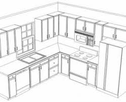 Adorable  Kitchen Cabinets Design Layout Decorating Inspiration - Kitchen cabinet layouts