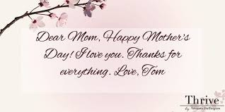send a mother u0027s day e card and thank your mom for teaching you to
