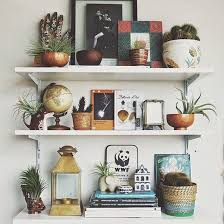 How To Decorate Floating Shelves Best 25 Wall Shelf Arrangement Ideas On Pinterest Bedroom Wall
