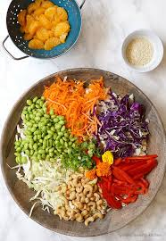 asian salad with sesame dressing mummy kitchen a