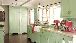 adorable light green kitchen cabinets and popular kitchen paint