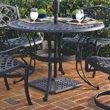 folding patio table with umbrella hole cheap patio sets with umbrella modern outdoor rectangular patio
