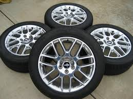 2012 mustang wheels 2012 18 polished aluminum wheels tires the mustang source