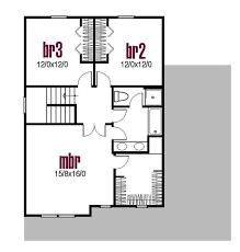 farmhouse style house plan 3 beds 1 50 baths 1680 sq ft plan 435 2