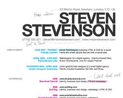 personal details resume minimalist wallpaper cute how to create a great web designer résumé and cv smashing magazine