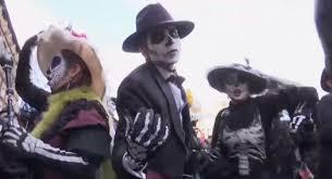halloween city teays valley wv james bond inspires dia de los muertos parade in mexico city pbs