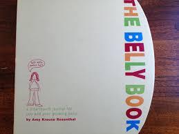pregnancy journal book the belly book a pregnancy journal idea chai mommas