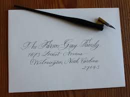 Wedding Envelopes Tutorial How To Address Envelopes In The 21st Century U2014 Catalyst