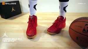 apple jordan wallpaper jordan melo m12 big apple on feet youtube