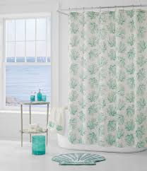 Coral And Turquoise Curtains Shower Curtains Everything Turquoise