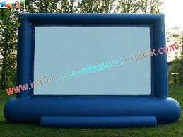 Backyard Home Theater Professional Projection Inflatable Movie Home Theater Screens