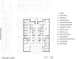 Health Center Floor Plan Northwest Arkansas Free Health Center 2014 06 16 Architectural
