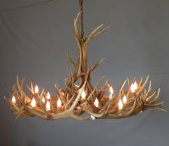 dining room unique antler chandelier for rustic living room design