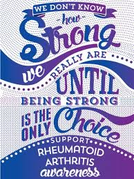 ra ribbon how strong rheumatoid arthritis awareness rheumatoid