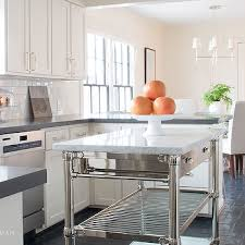 kitchen islands stainless steel freestanding marble top kitchen island design ideas