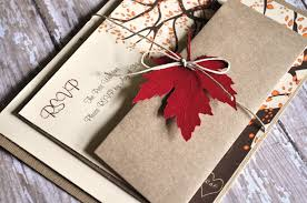 Wedding Invitation Packages Amazing Of Fall Wedding Invitations Packages Laser Cut Tree