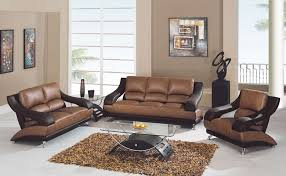 Living Room  Awesome Sofa Set For Living Room Design Gallery - Leather sofa design living room