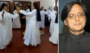 shashi tharoor shares of christian nuns celebrating onam
